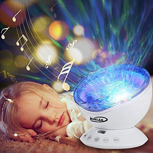 wei projektor lampe ikalula stimmungslichter ozeanwelle sternenhimmel projektor licht schlaf. Black Bedroom Furniture Sets. Home Design Ideas