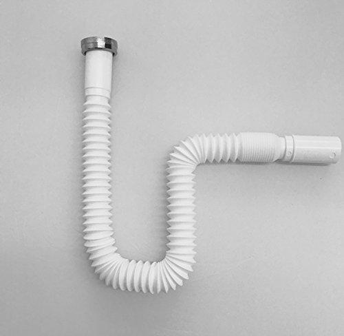 Anschlussrohr Fur Waschtisch Und Spule Flexibler Geruchsverschluss