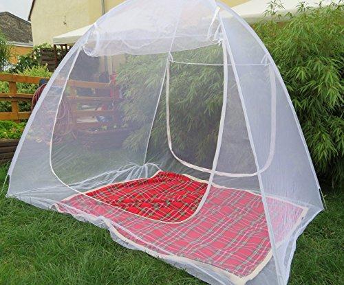 schramm moskitonetz mobil 200x150x148cm m ckenschutznetz baldachin insektenschutz fliegengitter. Black Bedroom Furniture Sets. Home Design Ideas