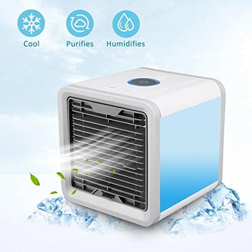 mini luftk hler 3 in 1 klimaanlage luftk hler mobile klimager te air cooler luftbefeuchter. Black Bedroom Furniture Sets. Home Design Ideas