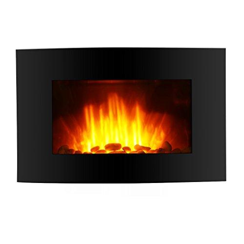 finether wandkamin elektrokamin led elektrischer kamin flammeneffekt kamin dekokamin mit. Black Bedroom Furniture Sets. Home Design Ideas