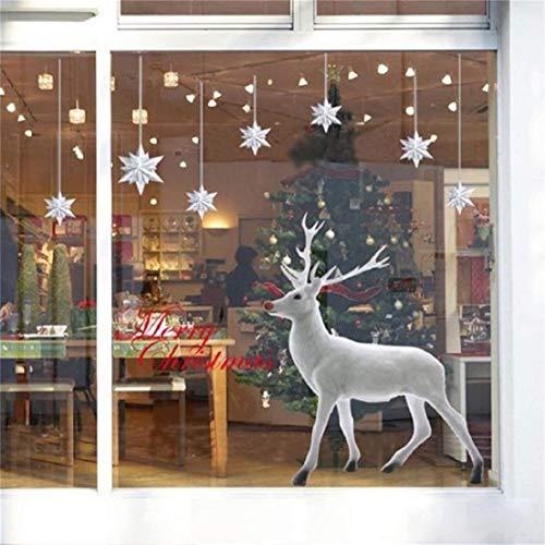 weihnachten fensterbilder weihnachtssticker skitic. Black Bedroom Furniture Sets. Home Design Ideas