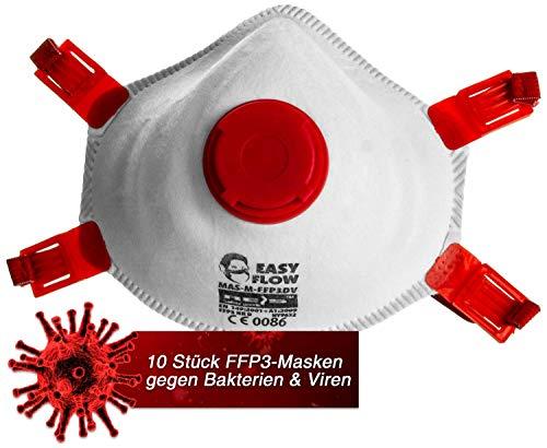 FFP3 Atemschutzmaske mit Ventil 5 Stück Feinstaubmaske ...